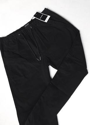 Штаны чёрные новые