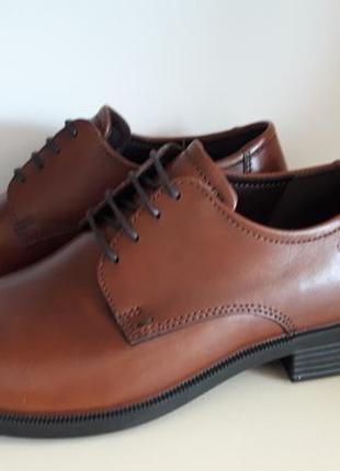 Туфлі шкіряні оригінал ecco harold 634505 розмір 39