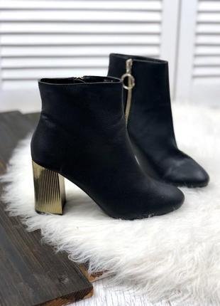 Ботинки на толстом каблуке от атм