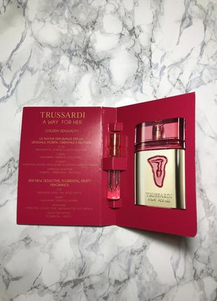 Trussardi a way for her пробник