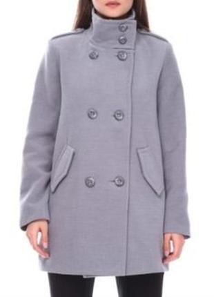 Пальто серое kira plastinina xs_s
