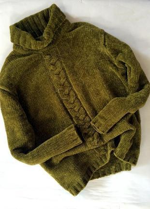 Крутой актуальный вязаный свитер в стиле zara оверсайз очень мягкий теплый