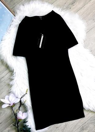 Базовое чёрное платье jennyfer