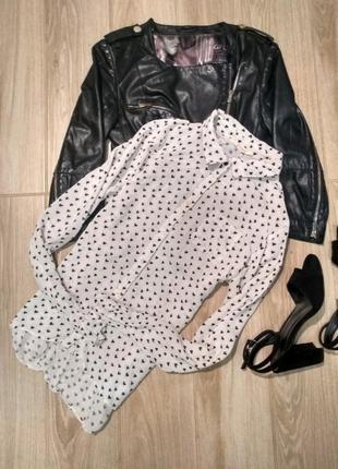 Блуза в сердечко от h&m