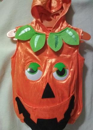 Костюм тыквы на хеллоуин.🎃🎃🎃