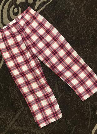 Пижамные штаны хлопок 5-6 лет