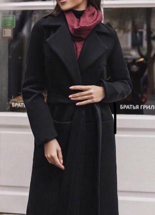 Актуальне пальто назапах під пояс🍂🖤