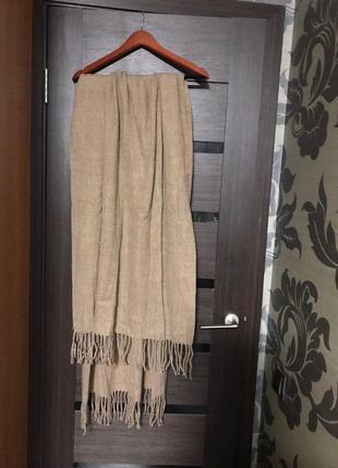 Большой женский шарф braska из акрила.