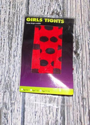 Новые колготы для девочки 11-14 лет, 146-164 см