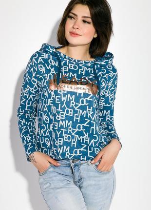 Толстовка женская, р-р s-m, свитер, свитшот, худи, пайта с капюшоном, ag-0009620