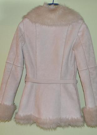 Полушубок, дубленка, куртка h&m размер xs - s