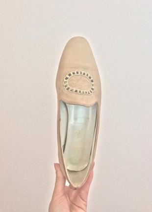 Туфлі з вишивкою clavnia