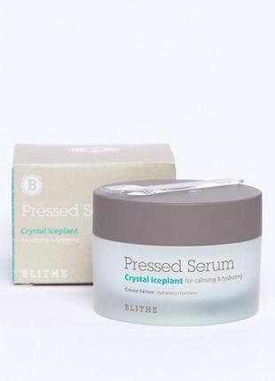 Сыворотка для лица blithe pressed serum crystal iceplant  50 мл