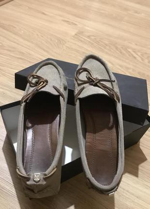 Мокасины туфли massimo dutti