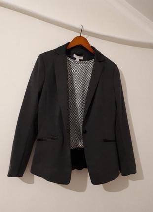 Удлиненный пиджак h&m