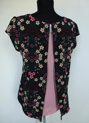 Блуза с оригинальной спинкой