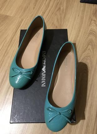 Балетки босоножки туфли armani оригинал