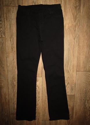 Черные брюки джинсы клёш р-р м-38 бренд c&a