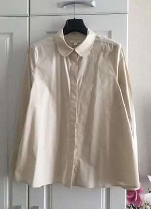 Расклешенная рубашка
