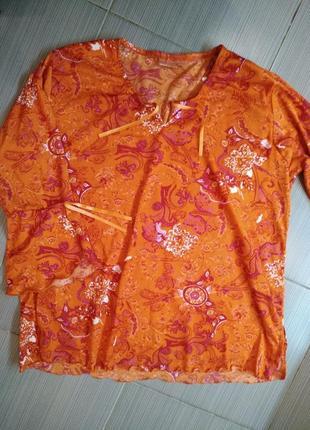 Яркая блузка кофта