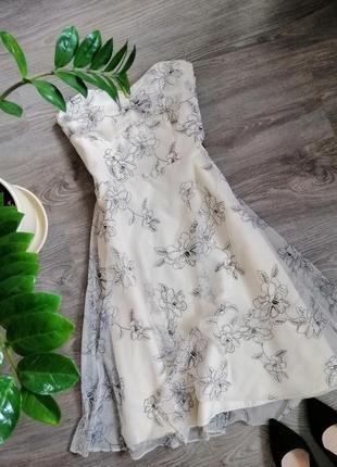 Нежное платье с вышивкой 💮