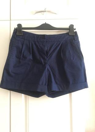 Тёмно-синие шорты