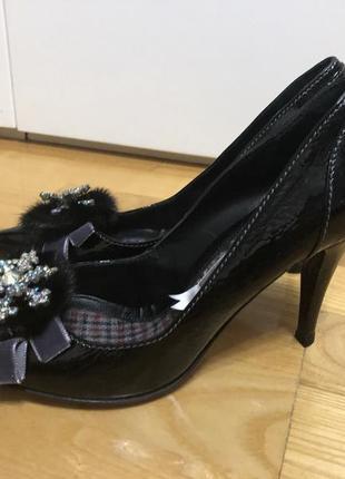 Шикарные туфли италия р.36,5