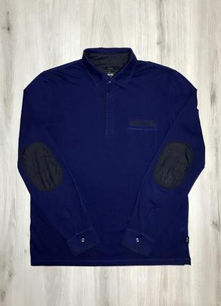 Поло на длинный рукав hugo boss fraine 04 long sleeve pima cotton polo shirt