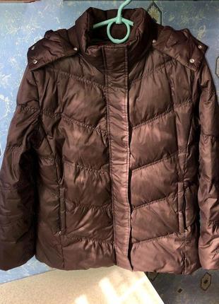 Пуховая зимняя куртка esprit l