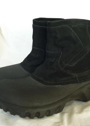 Crocs, демисезонные ботинки, оригинал м11-44р, теплые, не промокают