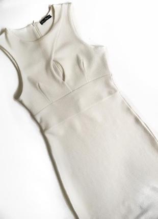 Шикарное, белое платье от miss elegant