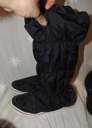 Зимние теплые сапоги adidas 39