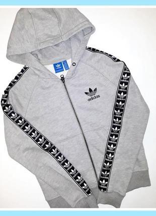 Zip-худи adidas с лампасами