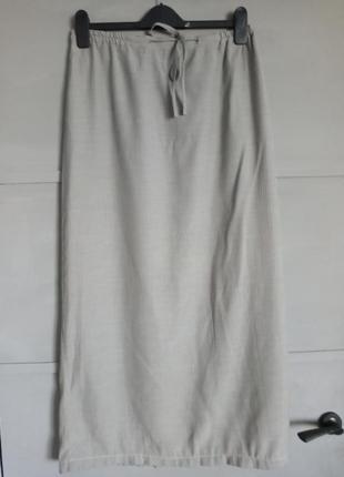 Струящаяся юбка. длинная юбка. макси . вискоза