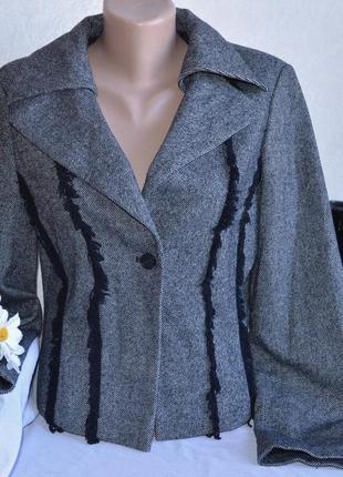 Брендовый серый пиджак жакет блейзер a-rticles
