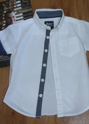 Рубашка primark на мальчика 1,5-2 года