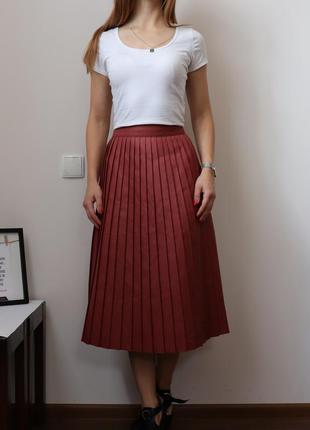 Ну просто очень  крутая юбка-плисе от asos