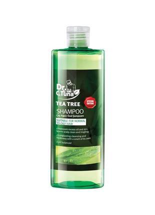 Сашет шампунь с экстрактом чайного дерева dr. tuna farmasi