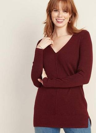 Пуловер джемпер кофточка цвета бордо next