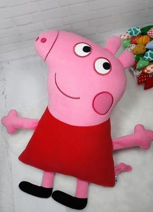 Мягкая игрушка - подушка свинка пеппа