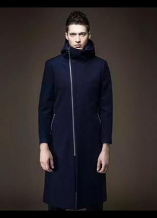 Мужское шерстяное пальто топ класса