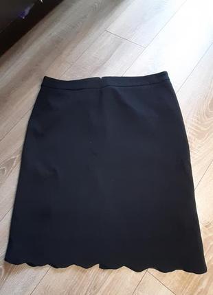 Чёрная юбка oodji