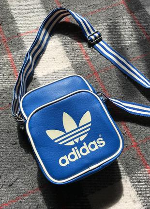 Adidas originals messanger cross bag сумка бананка