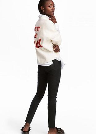 Оригинальные брюки суперстретч от бренда h&m разм. 40