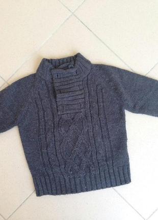 В'язаний теплий свитер palomino