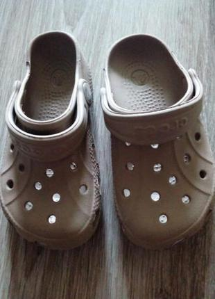 Crocs детские новые.