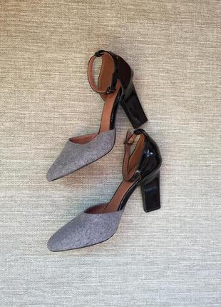 Стильные открытые туфли от next