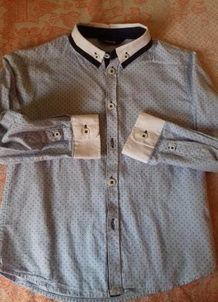 Нарядная рубашка на 5-6 лет