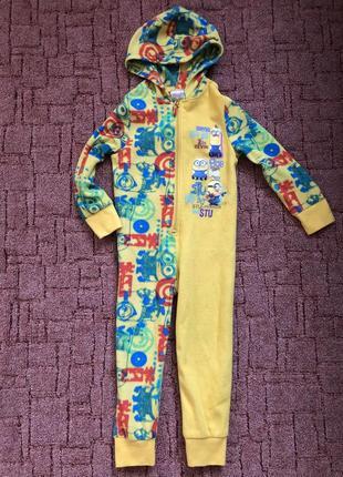 Слип пижама миньоны