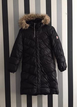 Пуховик длинный reima satu пальто